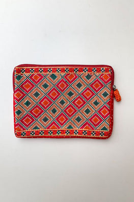 Shrujan Jat Embroidery Pouch-18