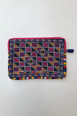 Shrujan Jat Embroidery Pouch-10
