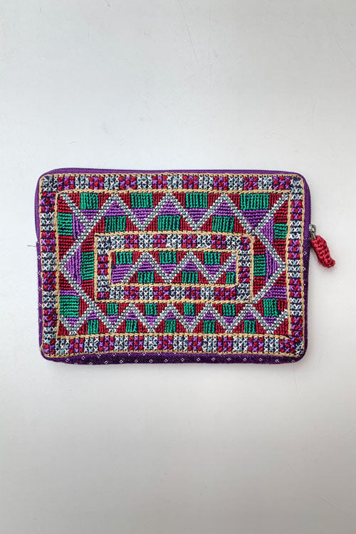 Shrujan Jat Embroidery Pouch-2
