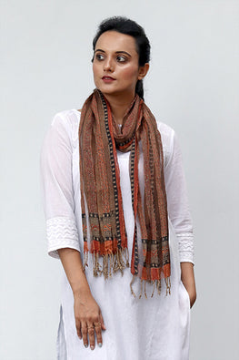 Natural-Dye-Block-Print-Filature-Silk-Stole