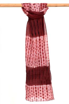 Natural-Dye-Shibori-Cotton-Stole