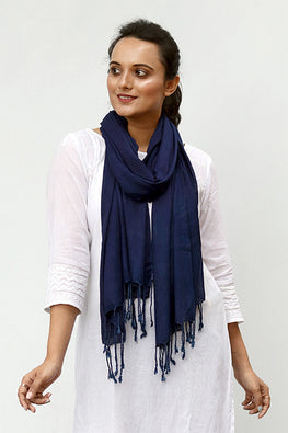 Natural-Indigo-Cotton-x-Silk-Stole