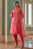Sunrise Ruby Long Kurta