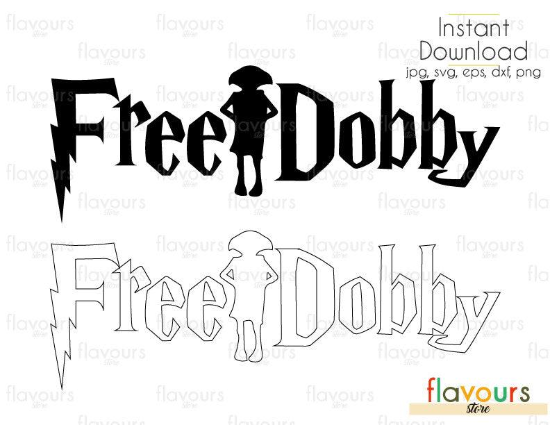 Free Dobby - Harry Potter - Cuttable Design Files (Svg, Eps, Dxf, Png, Jpg) For Silhouette and Cricut