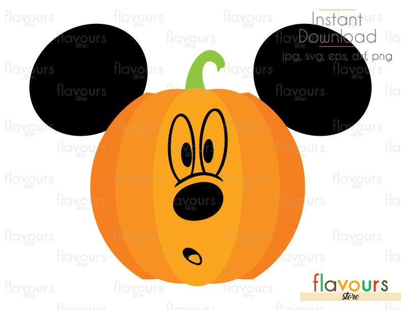Pumpkin Ears Halloween - Cuttable Design Files (Svg, Eps, Dxf, Png, Jpg) For Silhouette and Cricut