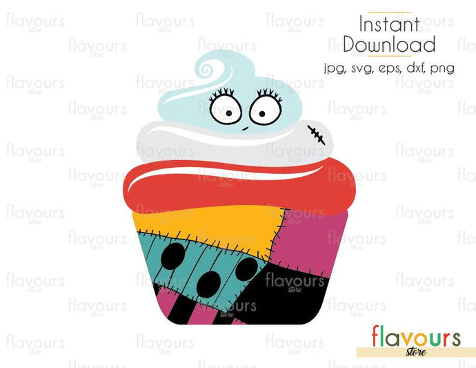 Sally Cupcake - Disney - SVG Cut File