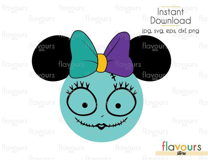 Sally Minnie Ears - Cuttable Design Files (Svg, Eps, Dxf, Png, Jpg) For Silhouette and Cricut