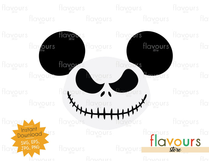 Jack Skellington Ears - SVG Cut File