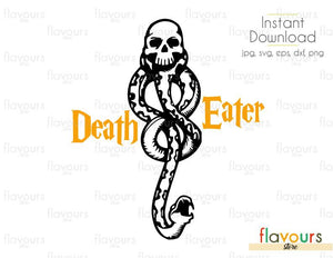 Death Eater - Harry Potter - Cuttable Design Files (Svg, Eps, Dxf, Png, Jpg) For Silhouette and Cricut