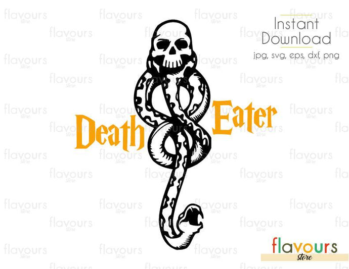 Death Eater - Harry Potter - SVG Cut files