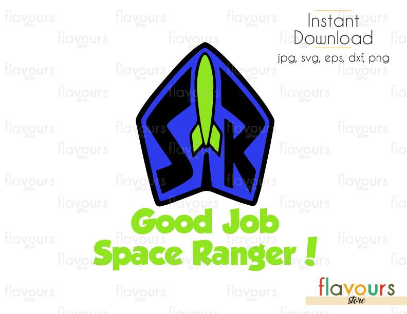 Gob Job Space Ranger - Toy Story - Cuttable Design Files (Svg, Eps, Dxf, Png, Jpg) For Silhouette and Cricut