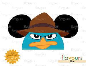 Agent Perry Ears - SVG File