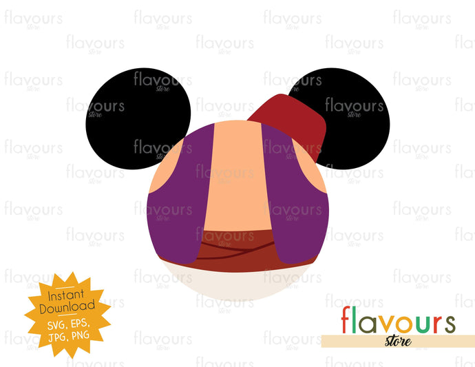 Aladdin Ears - Instant Download - SVG Cut File