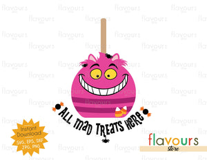 All Mad Treats Here - SVG Cut File