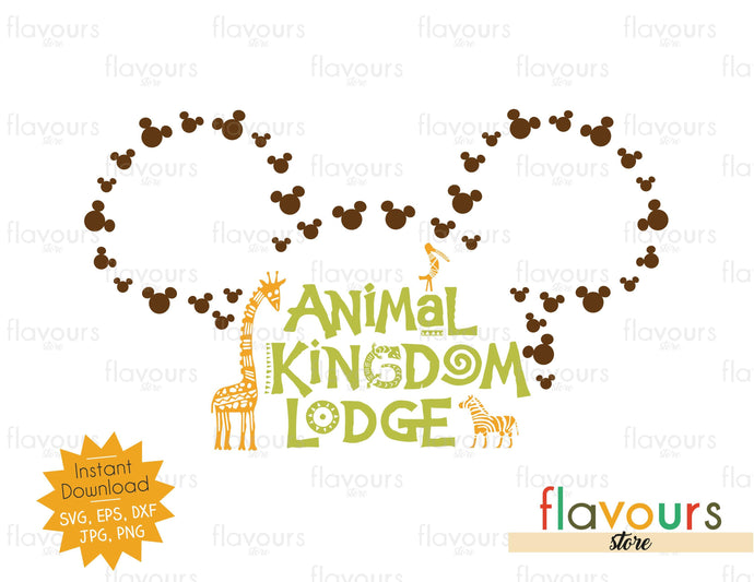 Animal Kingdom Lodge - SVG Cut File