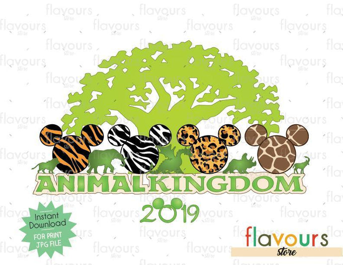 Animal Kingdom 2019 - Digital Files Printables