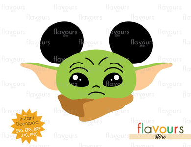 Baby Yoda Ears - Star Wars - Cuttable Design Files