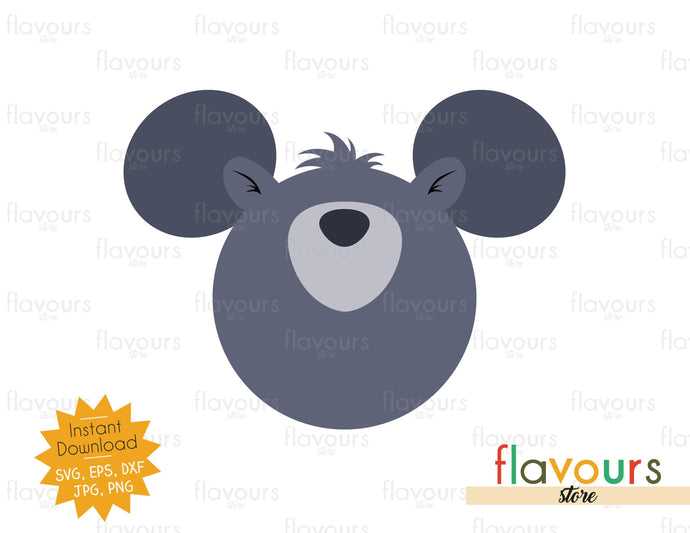 Baloo Ears - SVG Cut File - FlavoursStore
