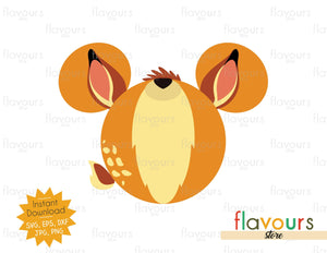 Bambi Ears - SVG Cut File