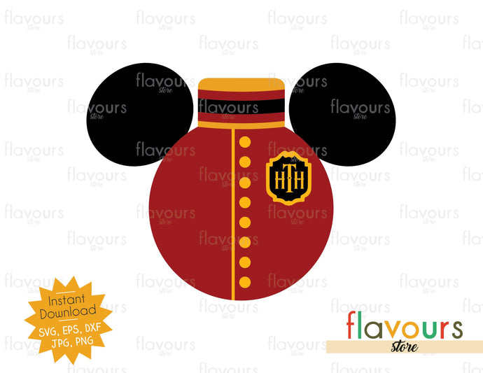 Bellhop Ears - Tower of Terror - SVG Cut File