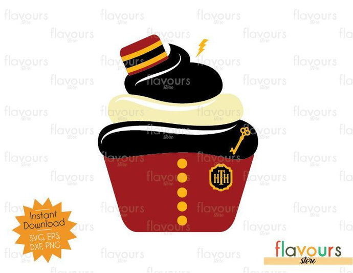 Bellhop Tower of Terror Cupcake - Disney - SVG Cut File