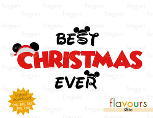 Best Christmas Ever - SVG Cut File