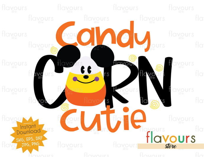 Candy Corn Cutie - SVG Cut File - FlavoursStore