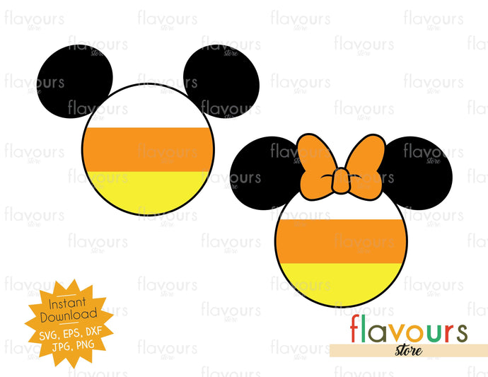 Candy Corn Ears - SVG Cut File