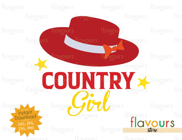 Country Girl - Toy Story - Instant Download - SVG Cut File