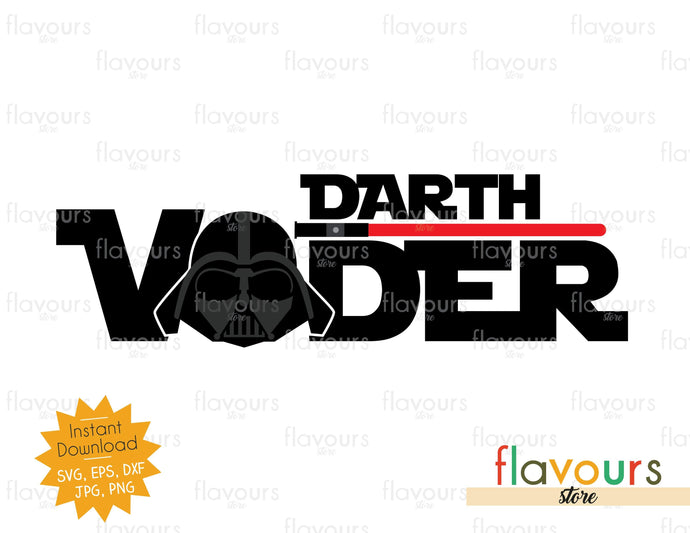 Darth Vader - Star Wars - SVG Cut File