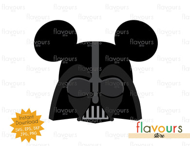 Darth Vader Ears - Star Wars - Cuttable Design Files