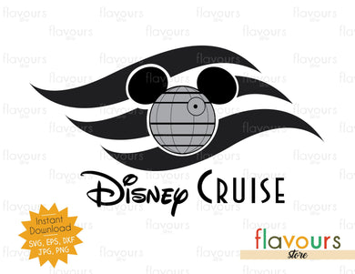 Death Star Disney Cruise Flag - Star Wars - Cuttable Design Files