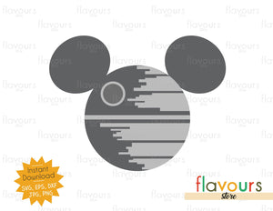 Death Star Ears - Star Wars - Cuttable Design Files