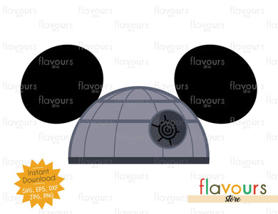 Death Star Hat Ears - Star Wars - Cuttable Design Files