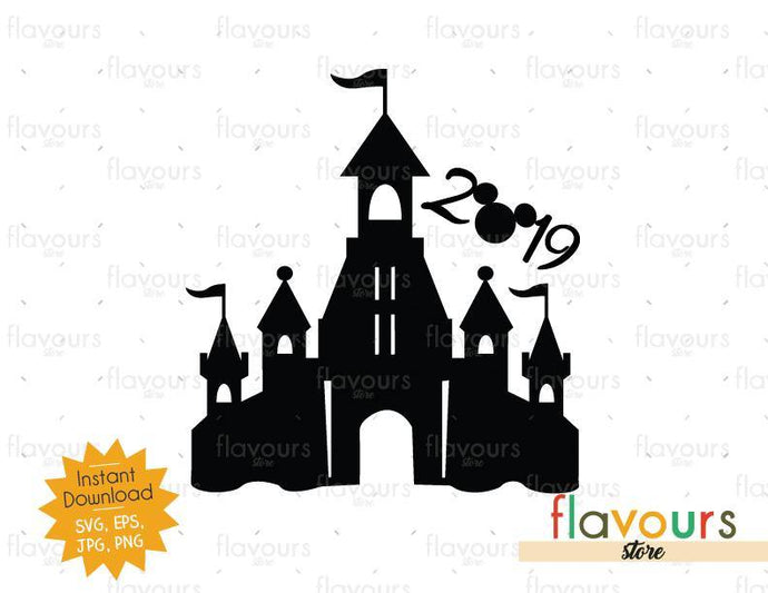 Disney Castle 2019 - Instant Download - SVG Cut File