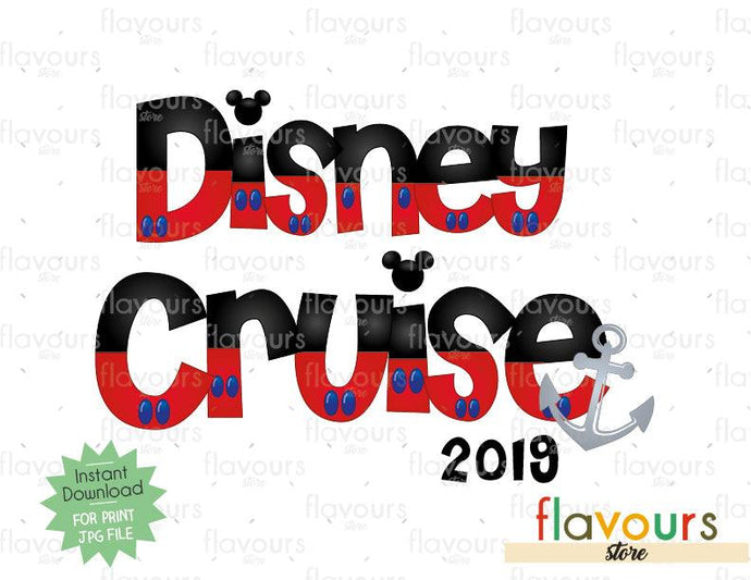 Disney Cruise 2019 - Cruise Trip - Digital Files Printables