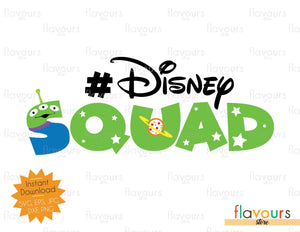Disney Squad - Alien - SVG Cut File