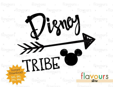 Disney Tribe - Instant Download - SVG Cut File