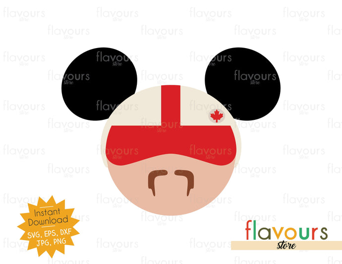 Duke Caboom Ears - Toy Story - SVG File