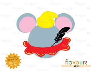 Dumbo Ears - Instant Download - SVG Cut File