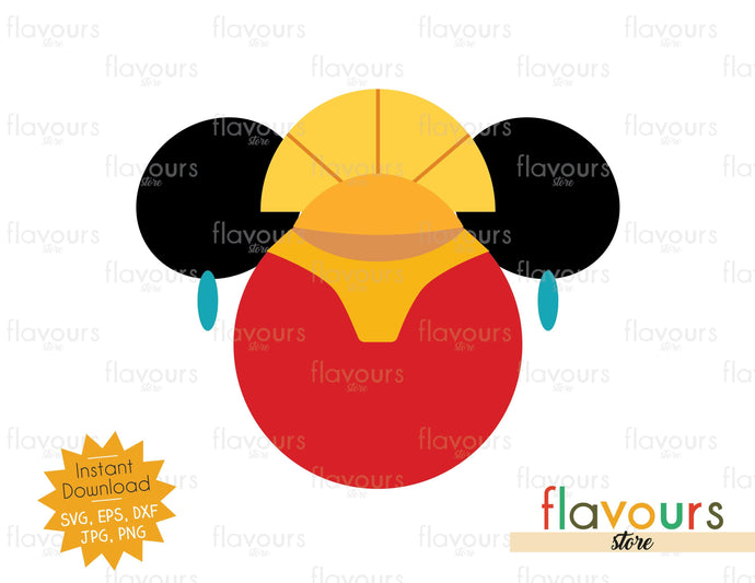 Emperor Kuzco Ears - SVG Cut File