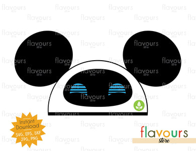 Eve Wall-E Hat Ears - SVG File