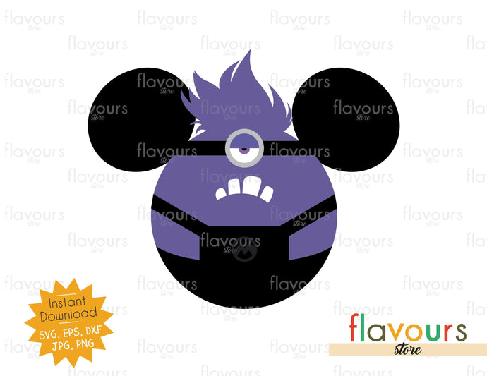 Evil Minion Ears - Minions - SVG Cut File
