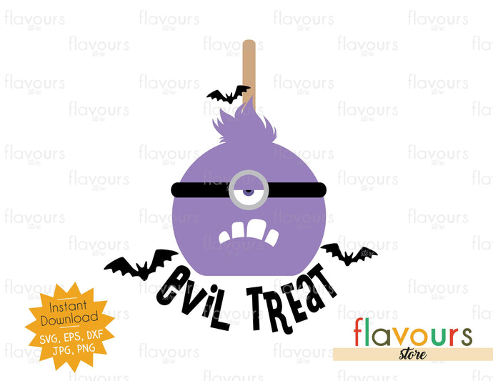 Evil Treat - SVG Cut File