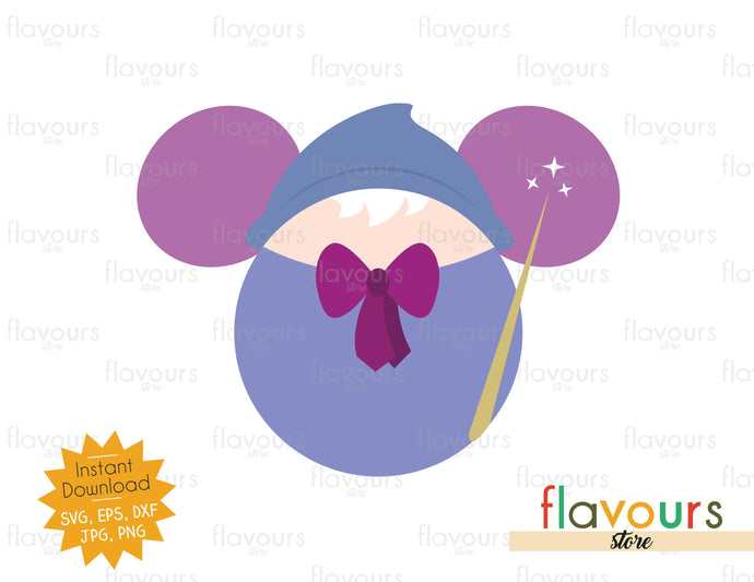 Fairy Godmother Ears - SVG Cut File