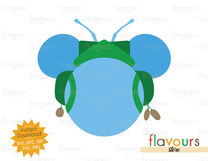 Flik Ears - SVG Cut File