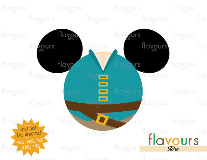 Flynn Rider Ears - SVG File