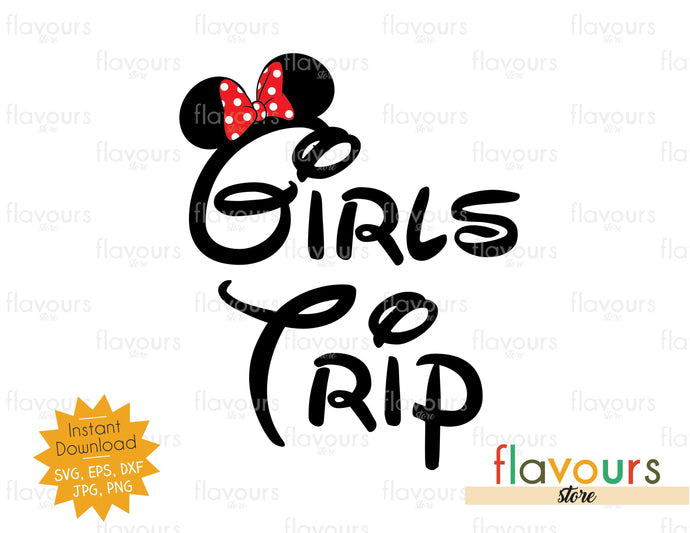 Girls Trip - Minnie Castle - Instant Download - SVG Cut File