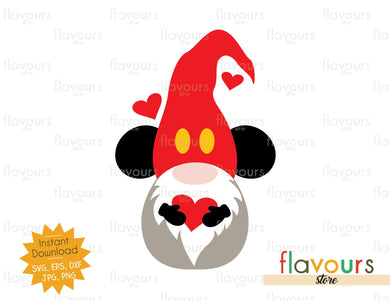 Mickey Gnome - SVG Cut File