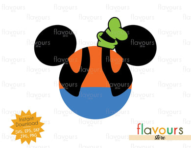 Goofy Ears - Instant Download - SVG Cut File